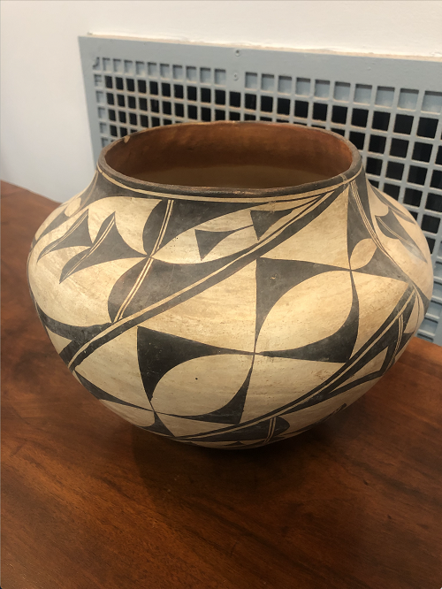 Antique American Indian Pottery Acoma